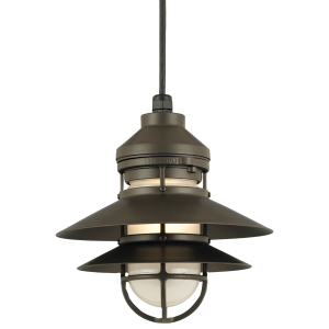 Rustic Pendant Light from BarnLight Originals